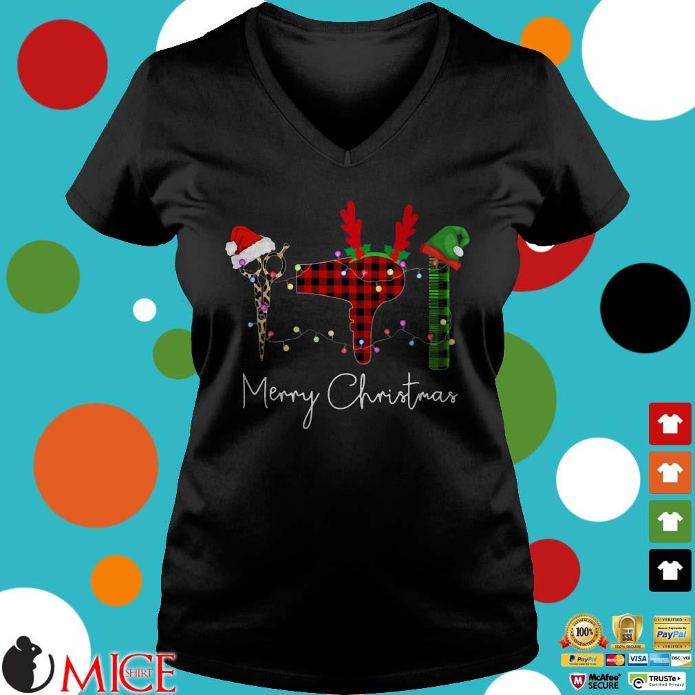 Barber tools Merry Christmas Sweater
