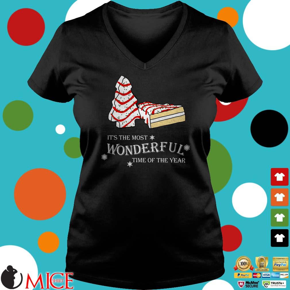 Cakes Christmas It's the most wonderful time of the year Shirt