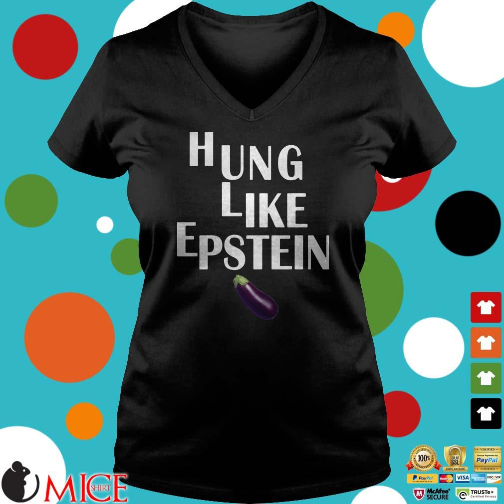 Eggplant Hung like Epstein Shirt