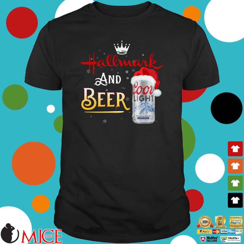 Hallmark And Beer Shirt Coors Light Beer Christmas 2020 Sweater