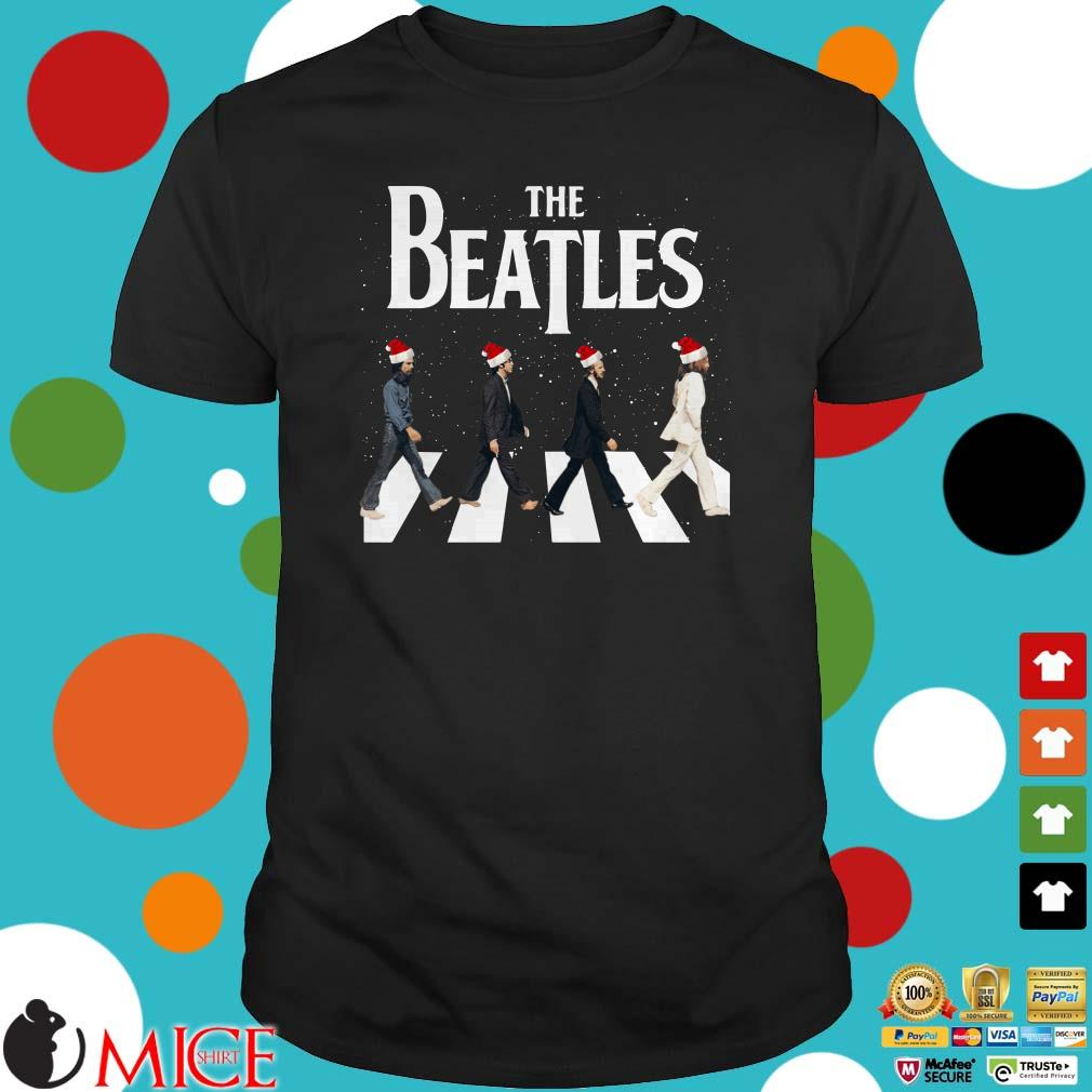 The Beatles Road Abbey Christmas Sweater