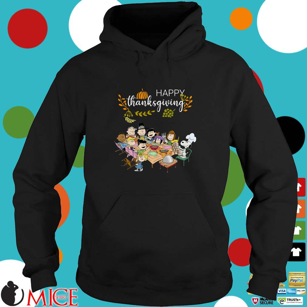 The Peanuts Party Happy Thanksgiving Shirt