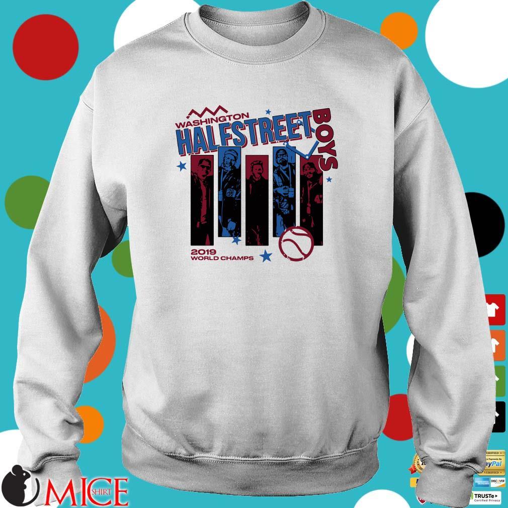 Washington Half Street Boys 2019 World Champs Shirt