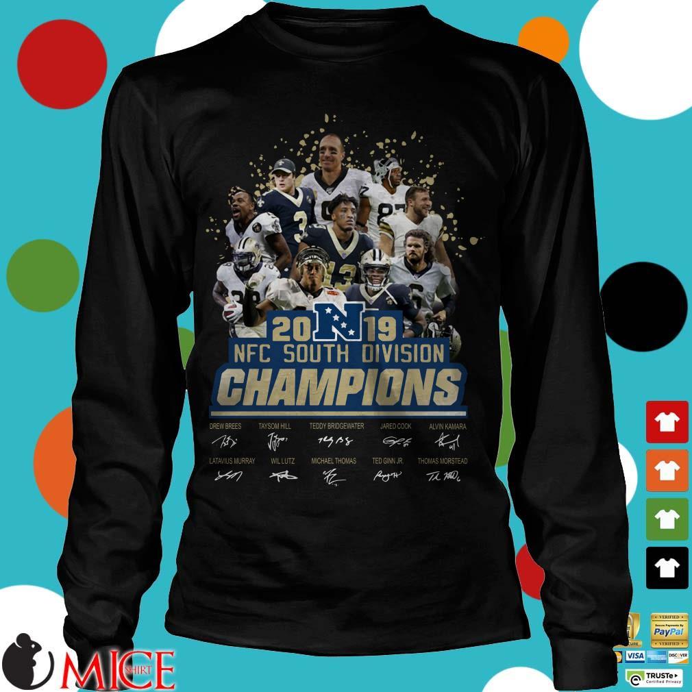 2019 NFC South Division Champions Shirt