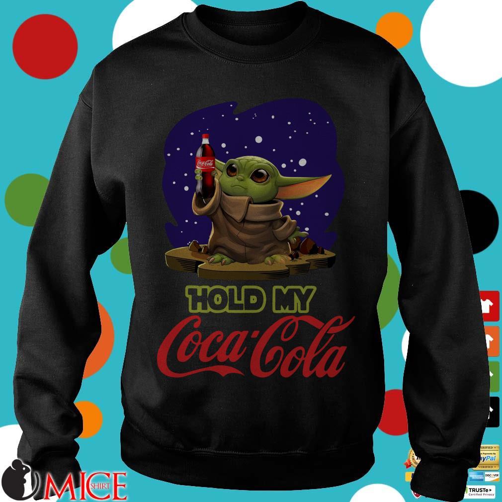 Baby Yoda Hold My Coca Cola Shirt