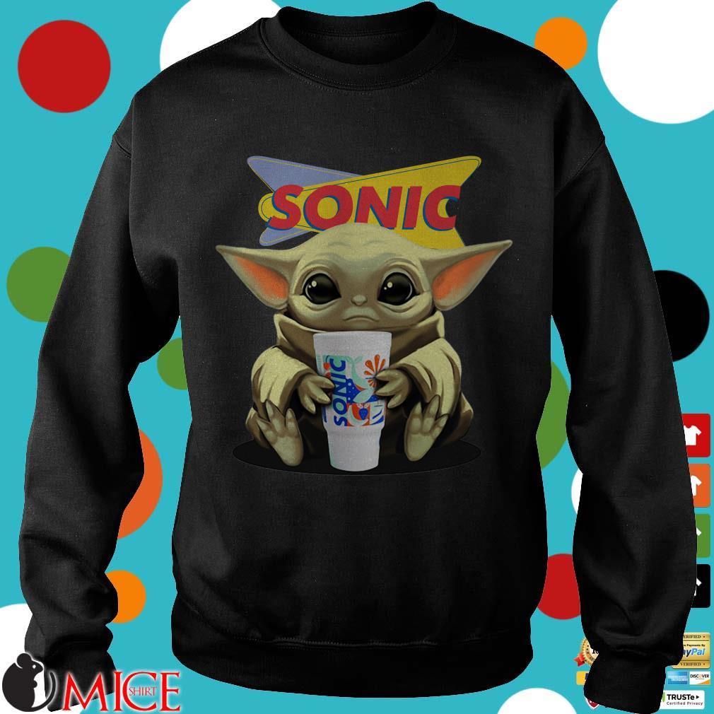 Baby Yoda Hug Sonic Drive-In Shirt