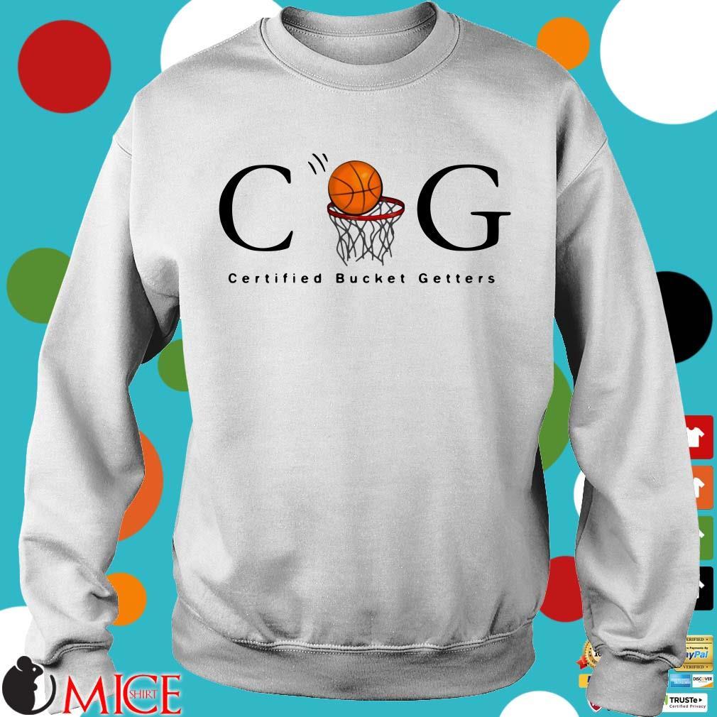 CBG Certified Bucket Getters Ballers basketball Shirt
