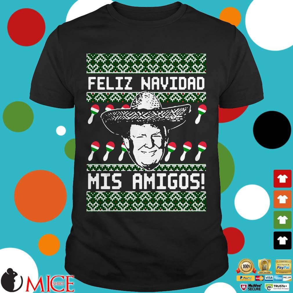 Donald Trump Feliz Navidad Mis Amigos Ugly Christmas 2020 Sweater
