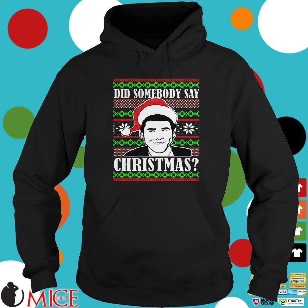Dumb and Dumber Did Somebody Say Christmas Ugly Sweater