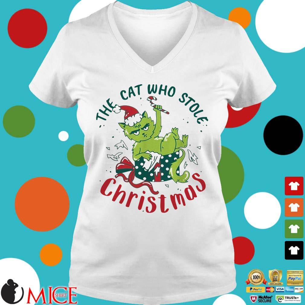 ELF The cat who stole Christmas Sweater