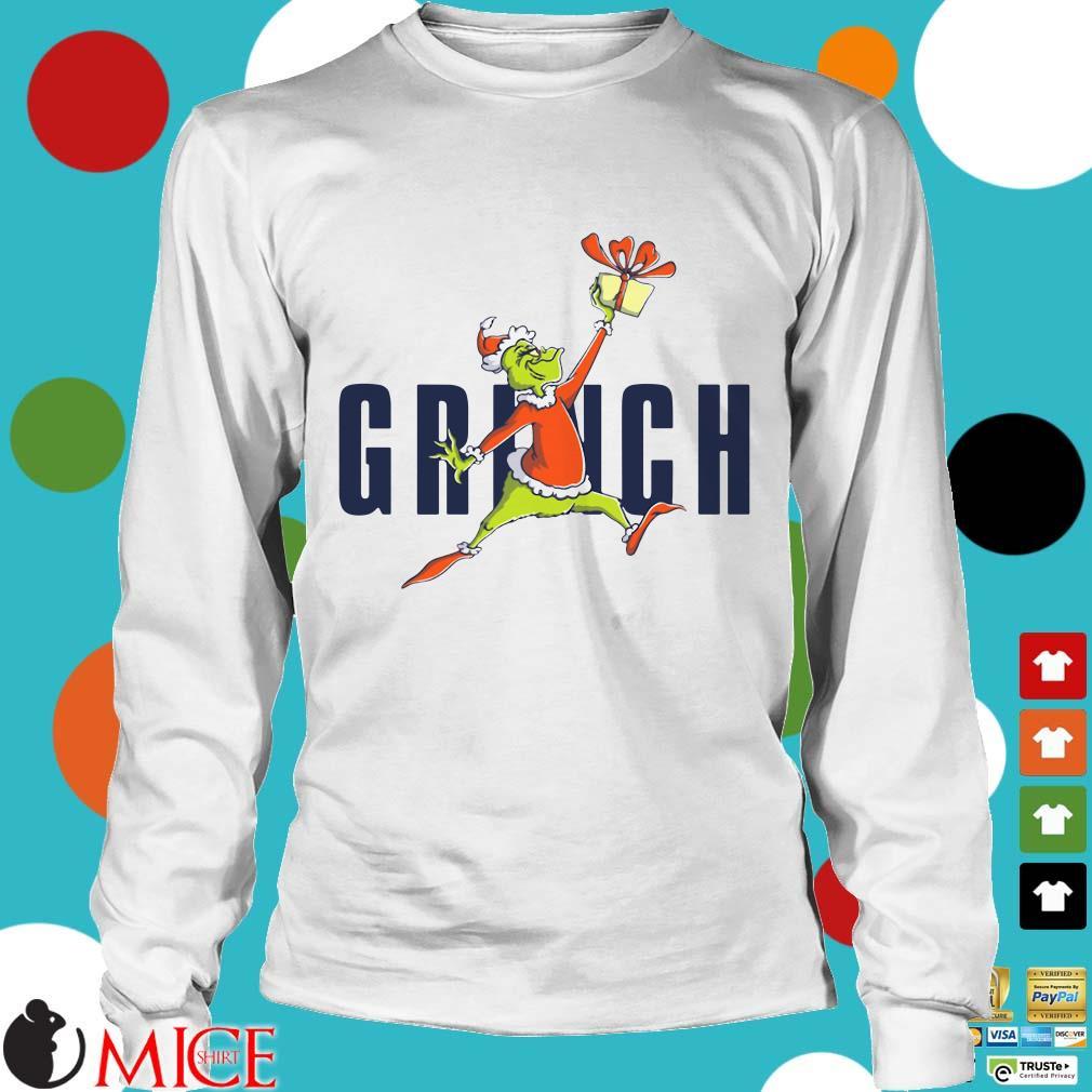 Santa Air Grinch Chrismast Sweater