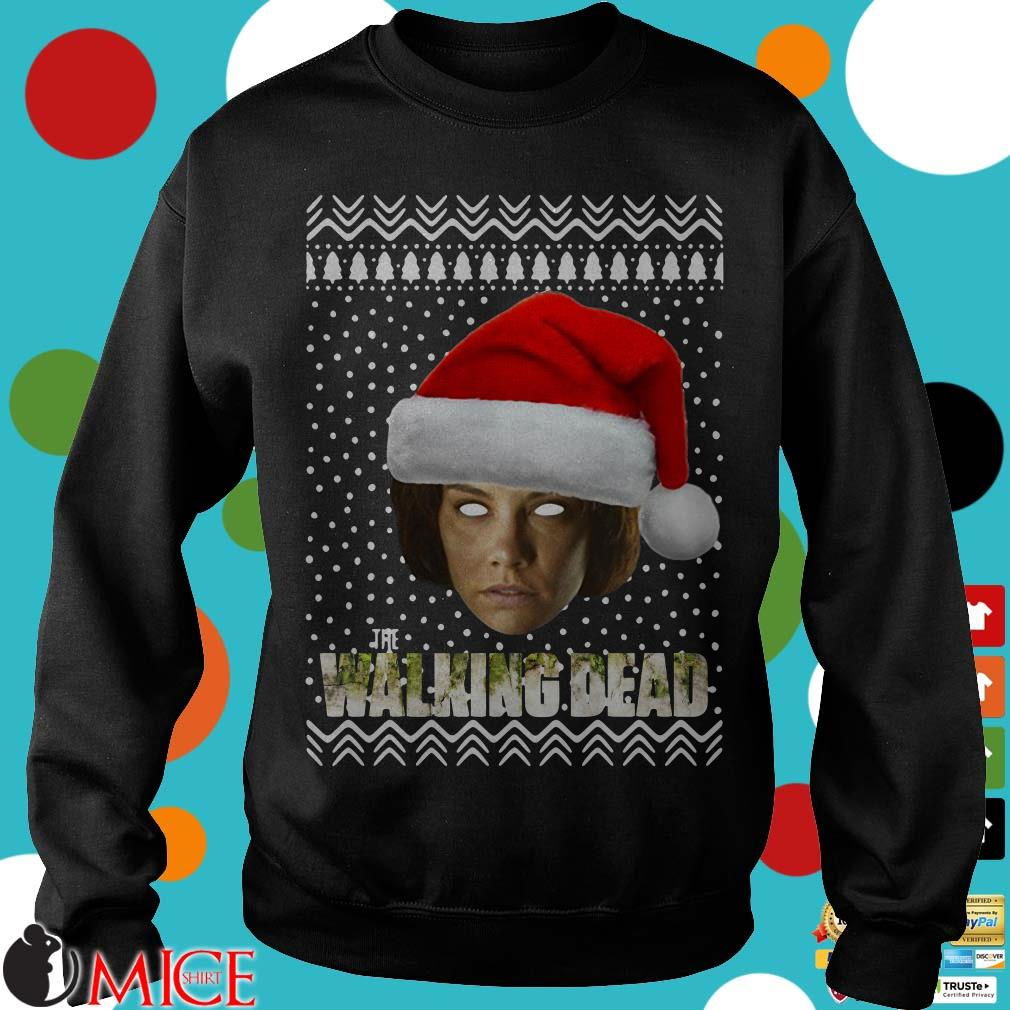 The Walking Dead Maggie Greene Santa Hat Ugly Christmas