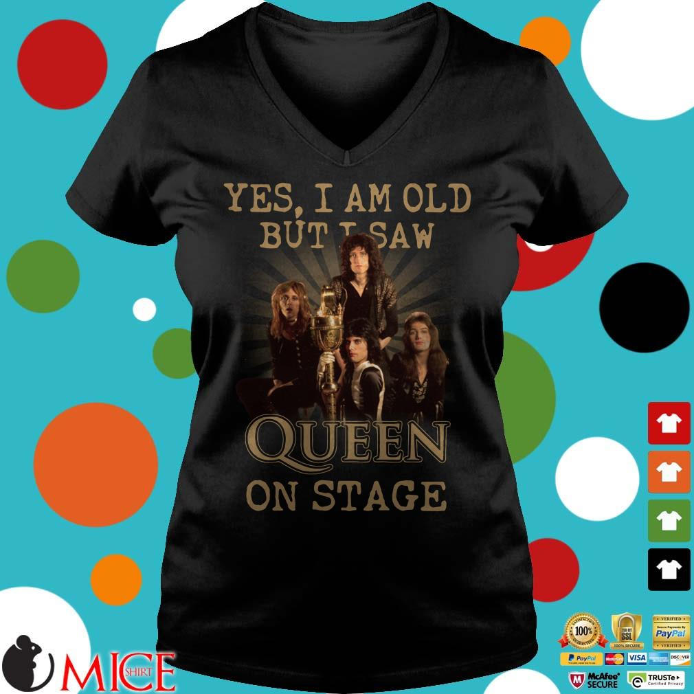 Yes I am old but I saw Queen on stage vintage shirt, Sweater