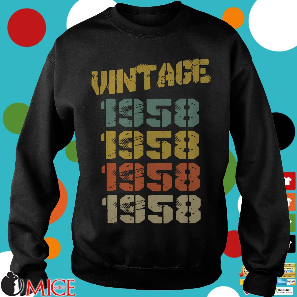 1958 Vintage 62nd Birthday Shirt