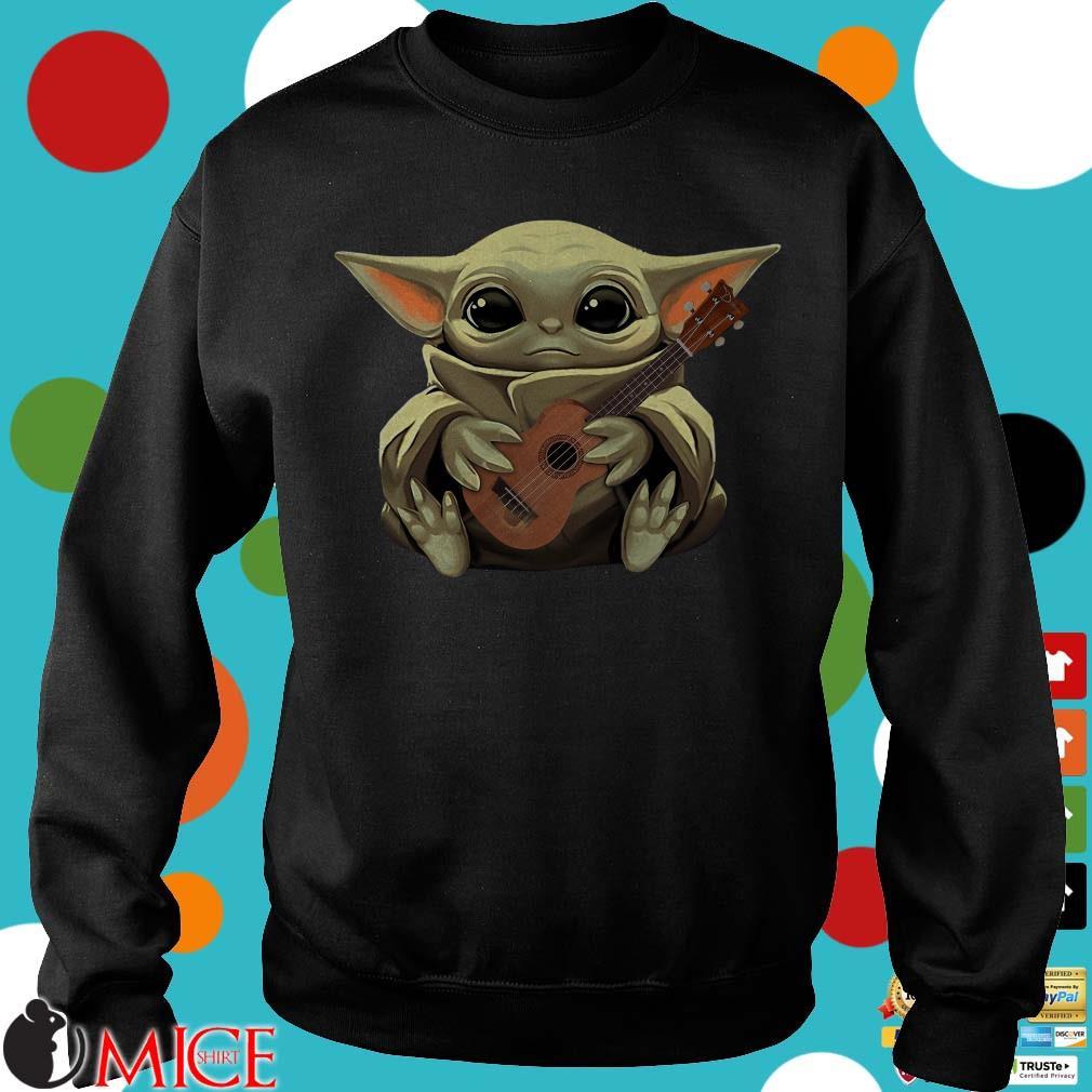 Baby Yoda Hug Ukulele Shirt