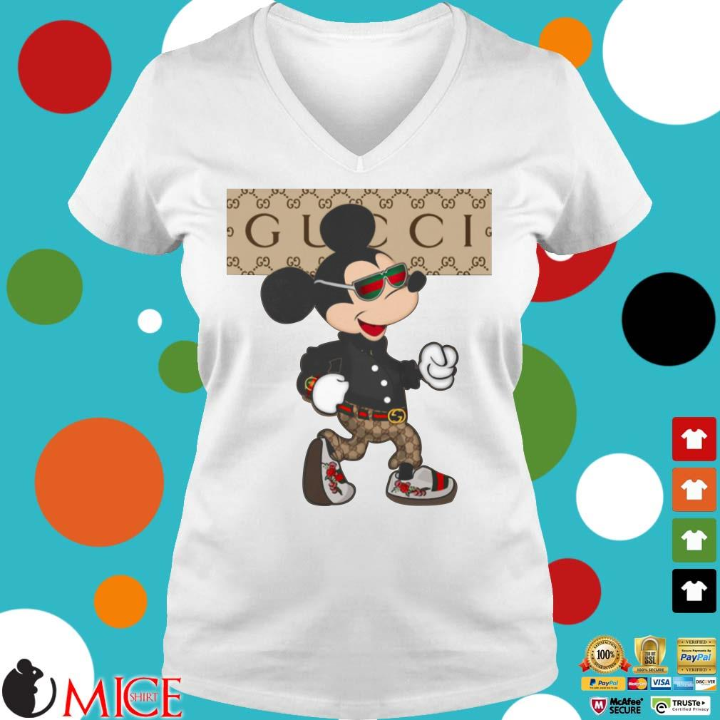 Gucci Mickey Mouse Shirt, Sweater, Hoodie, And Long Sleeved
