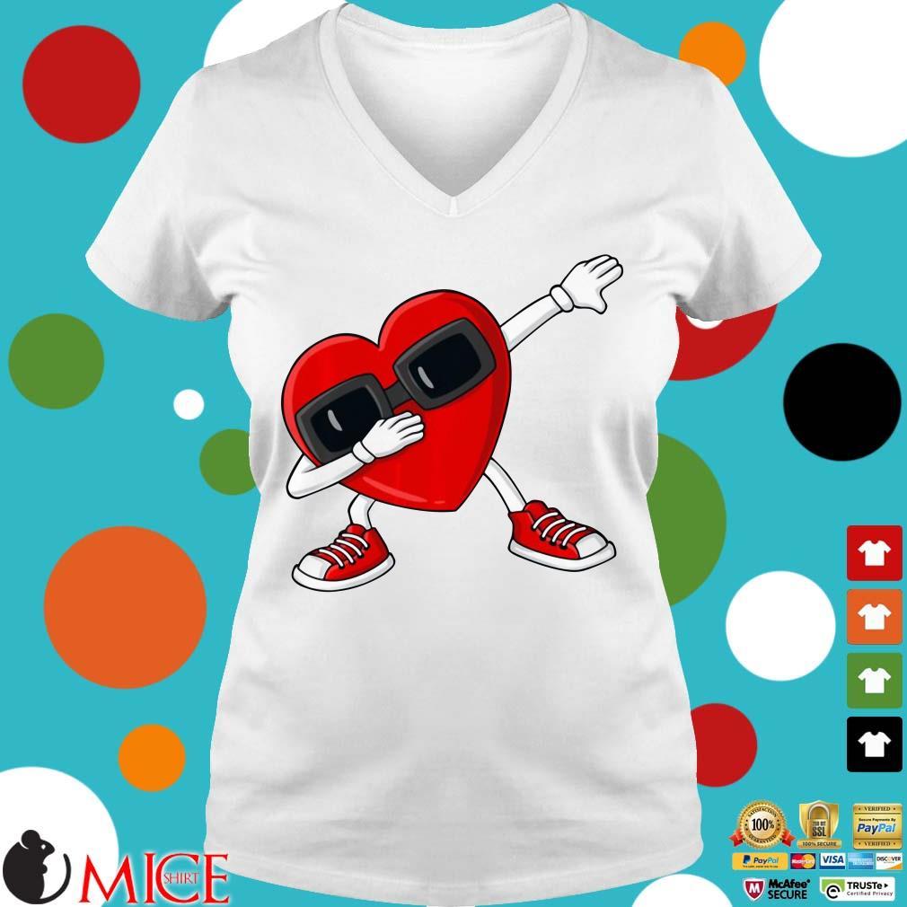 Valentine's Day Dabbing Heart Shirt