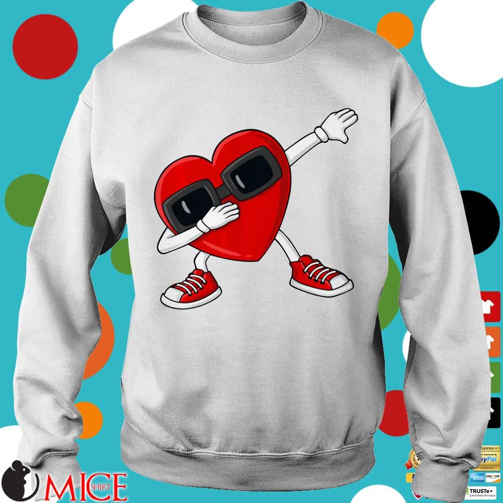 Valentine's Day Dabbing Heart Shirt