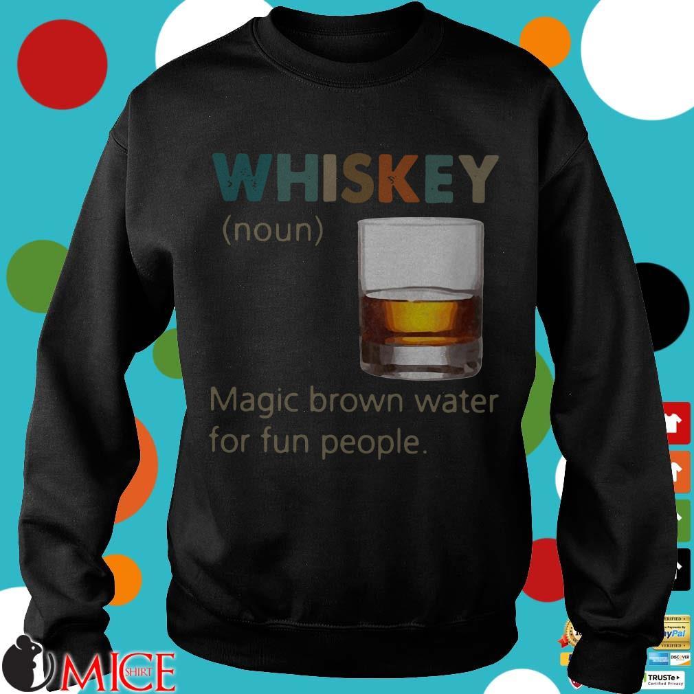 Whiskey Noun vintage Shirt