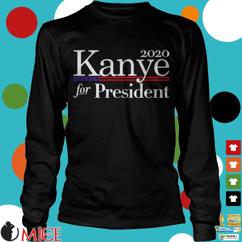 2020 Kanye For President American Flag Shirt