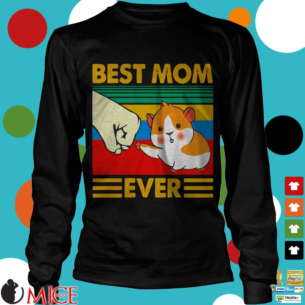 Guinea Pig Best Mom Ever Vintage Shirt