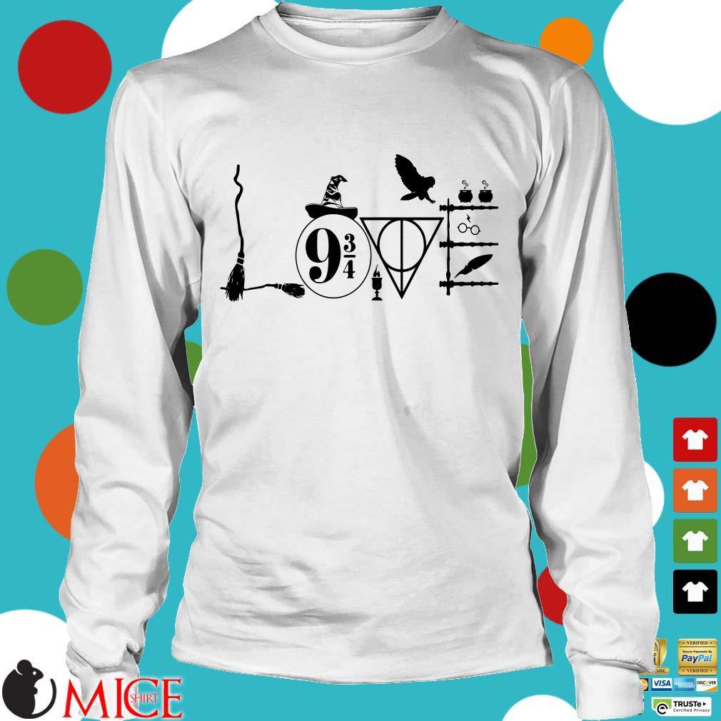 Harry Potter Love 9 3/4 Shirt