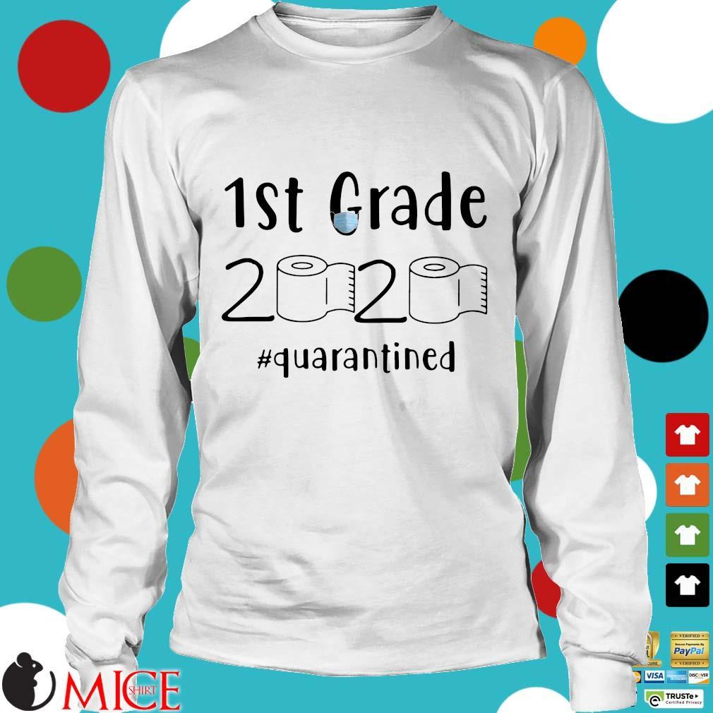 1st Grade 2020 Toilet Paper #quarantined Shirt t Longsleeve