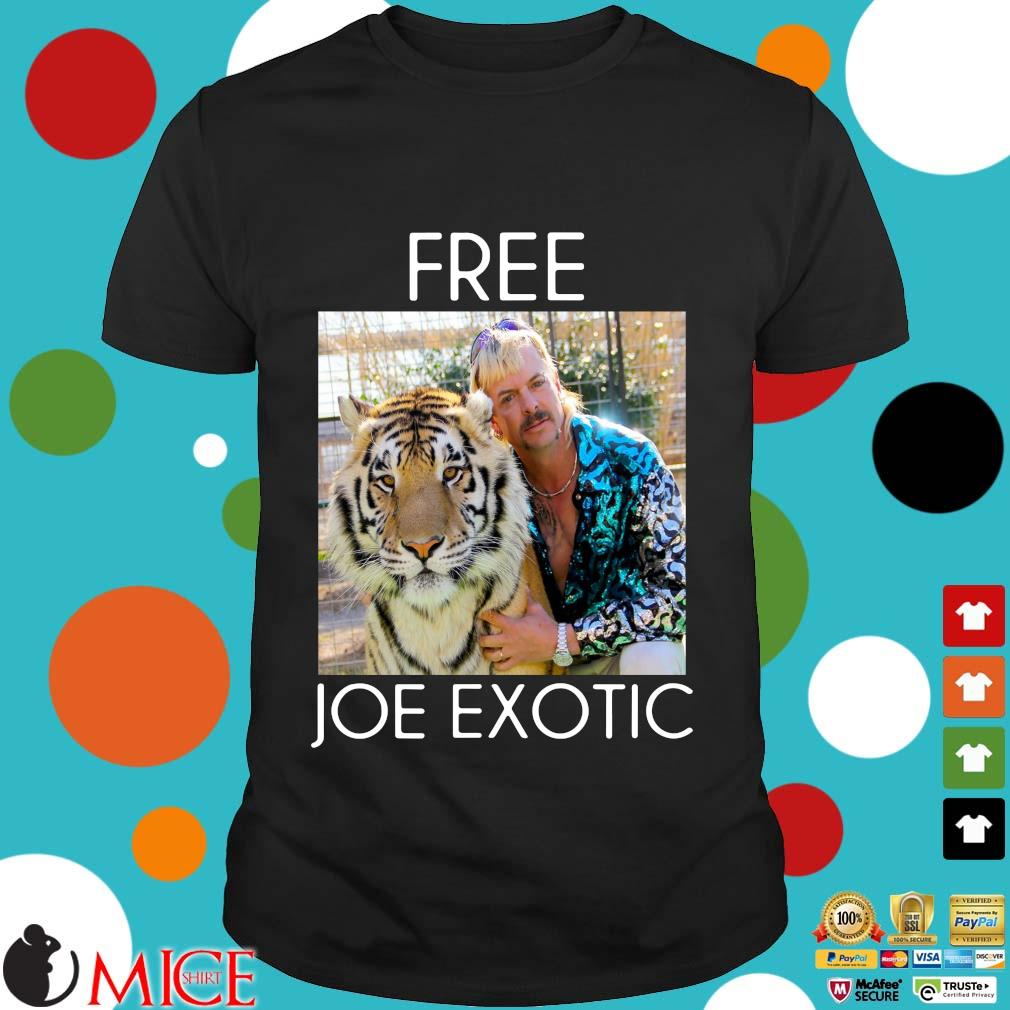 Free Joe Exotic Tiger King Shirts Miceshirt Over Blog Com