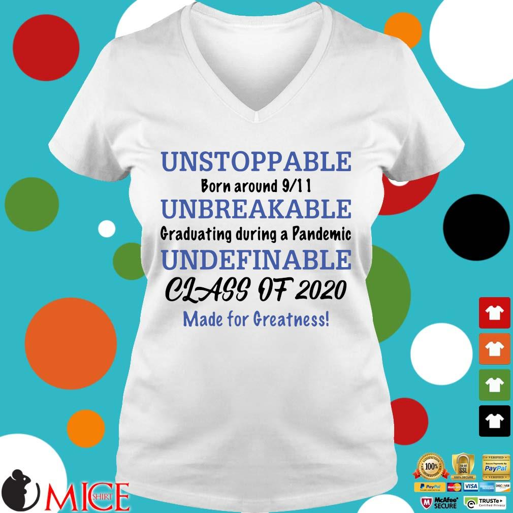 Unstoppable Born Around 9_11 Unbreakable Graduating During