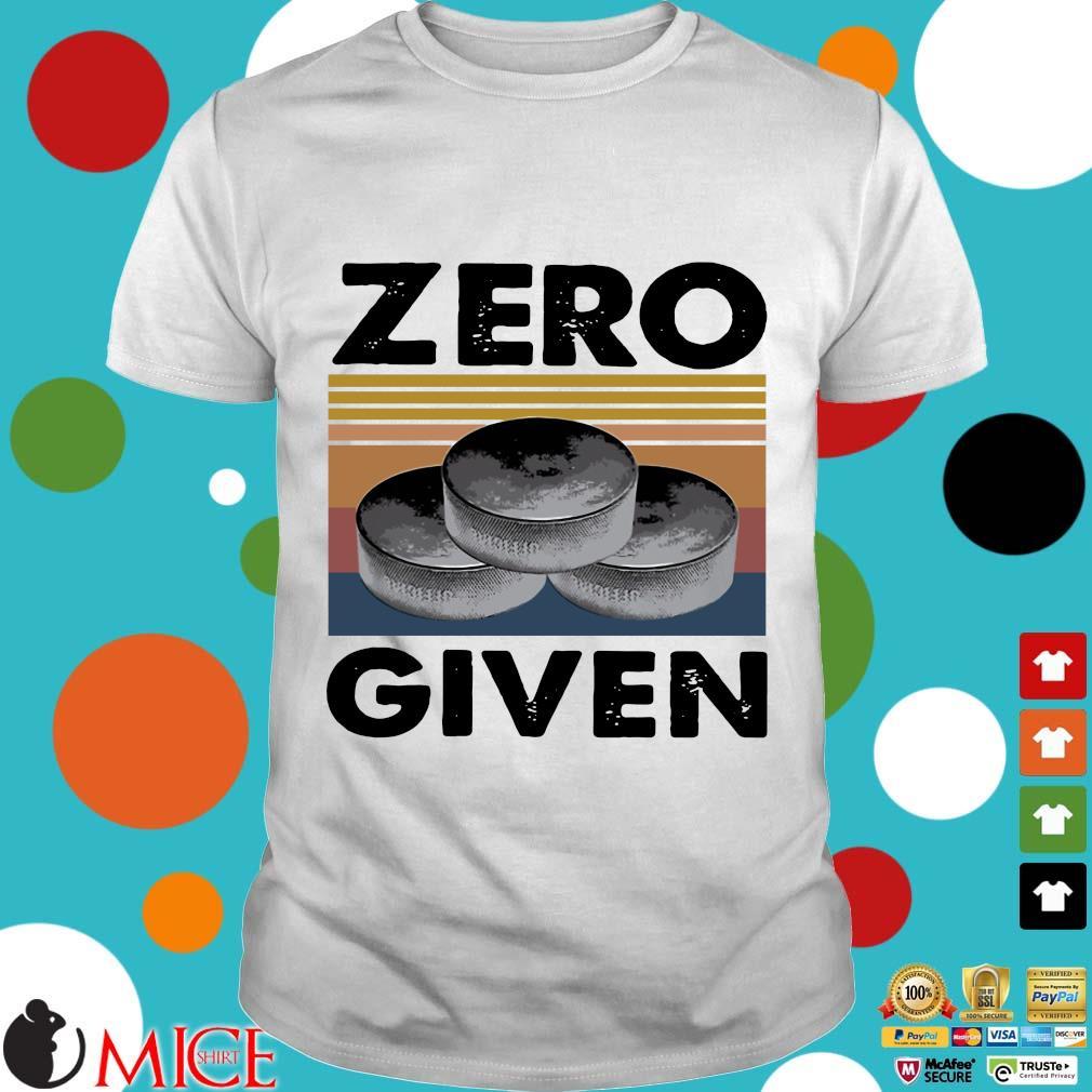 Zero Given Vintage Shirts