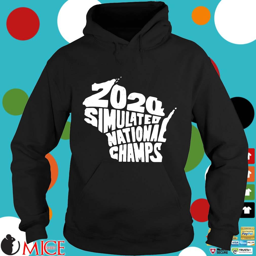 2020 Simulated National Champs Shirt d Hoodie
