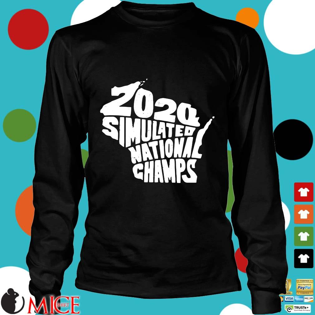 2020 Simulated National Champs Shirt d Longsleeve