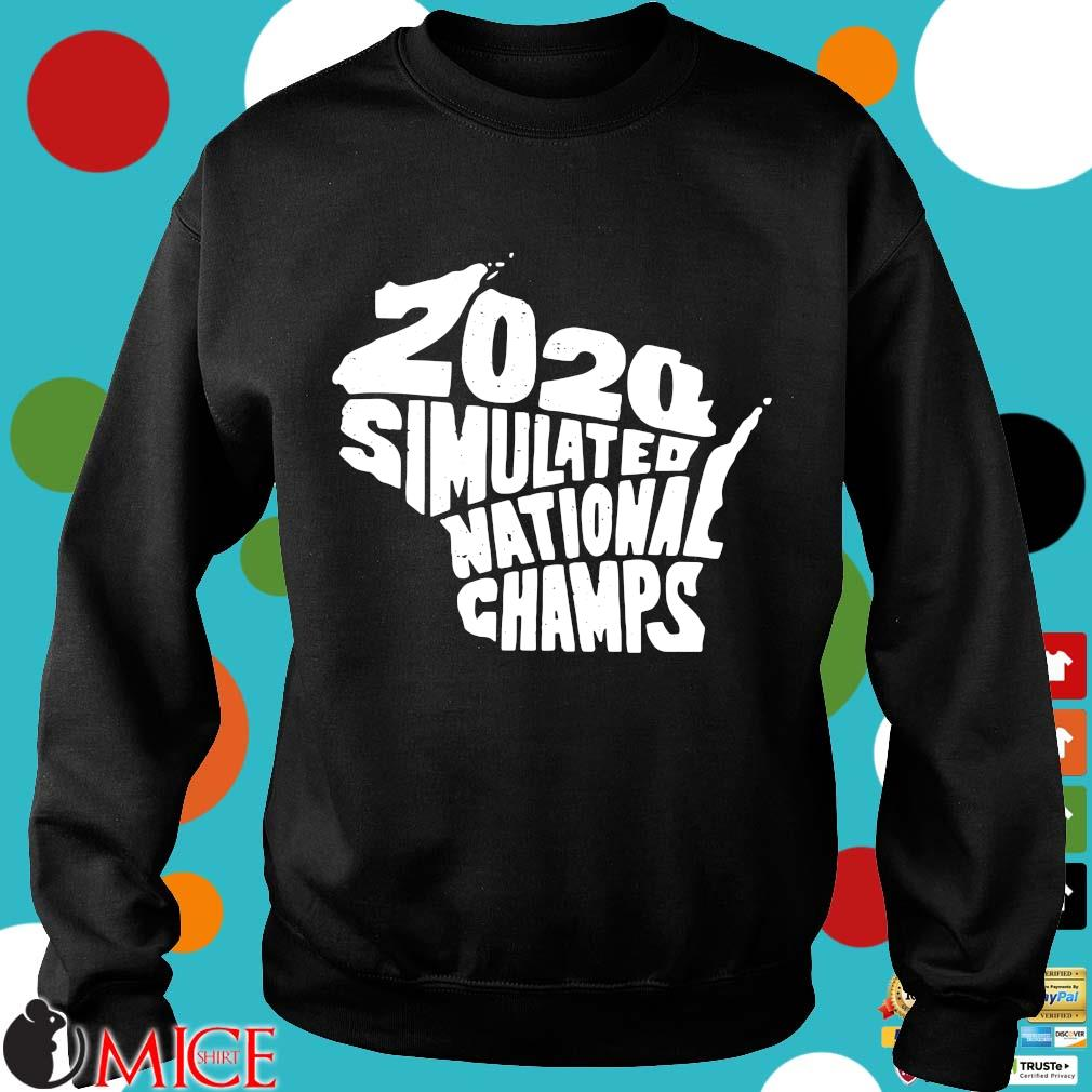 2020 Simulated National Champs Shirt d Sweater