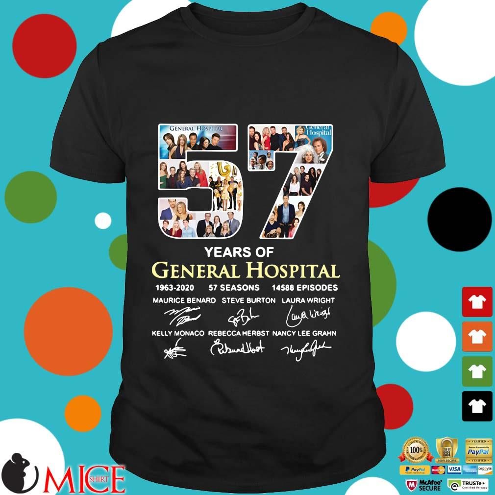 57 Years Of General Hospital 1963 2020 57 Seasons 14588 Episodes Signatures Shirt