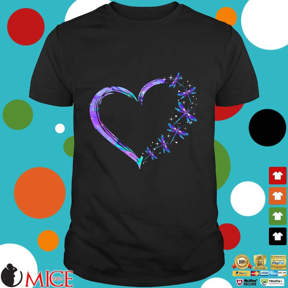 Heart Dragonfly Shirt