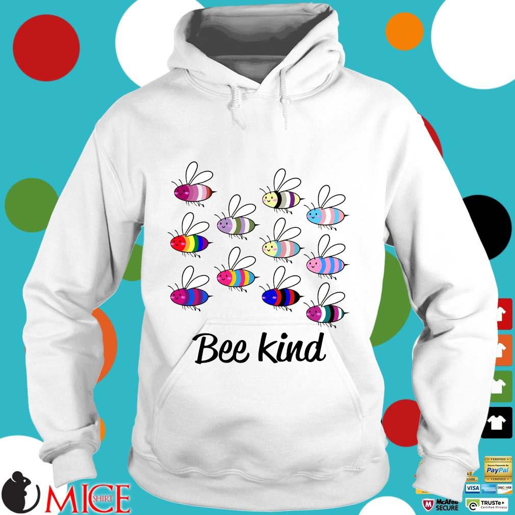 LGBT Bee Kind Gay Pride Shirt t Hoodie