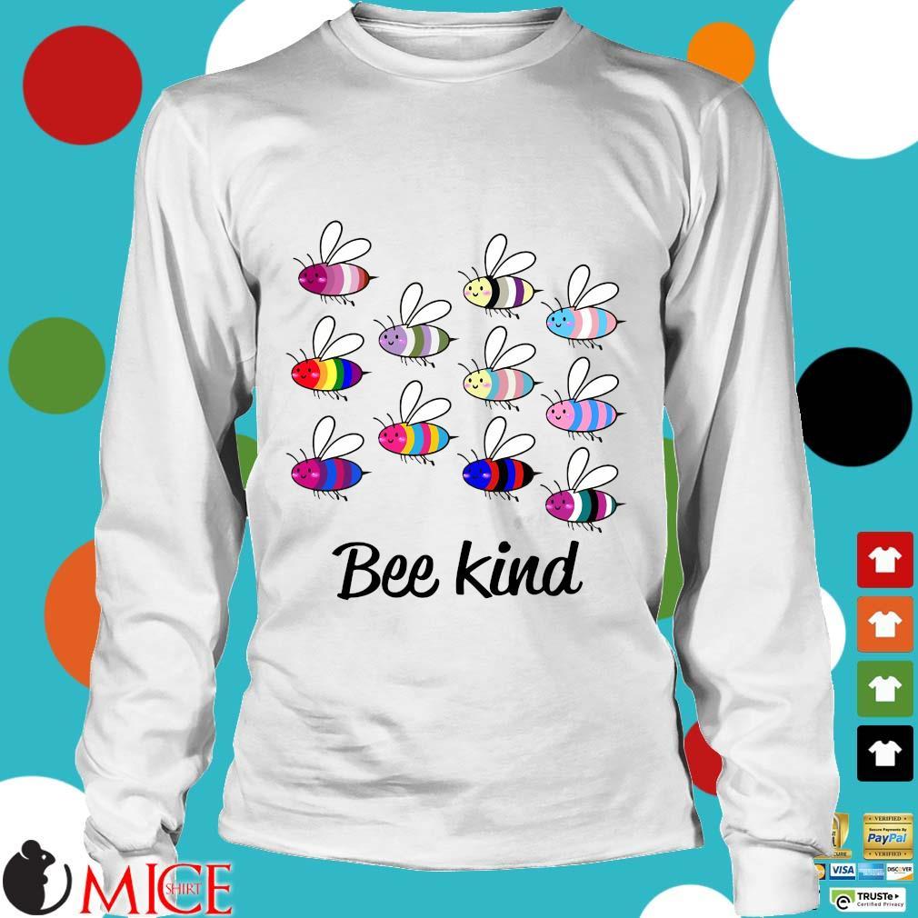 LGBT Bee Kind Gay Pride Shirt t Longsleeve