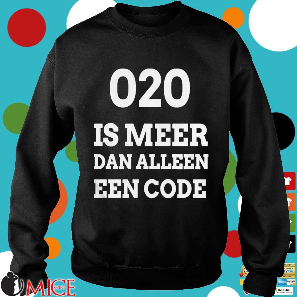 020 is meer dan alleen een code s d Sweater