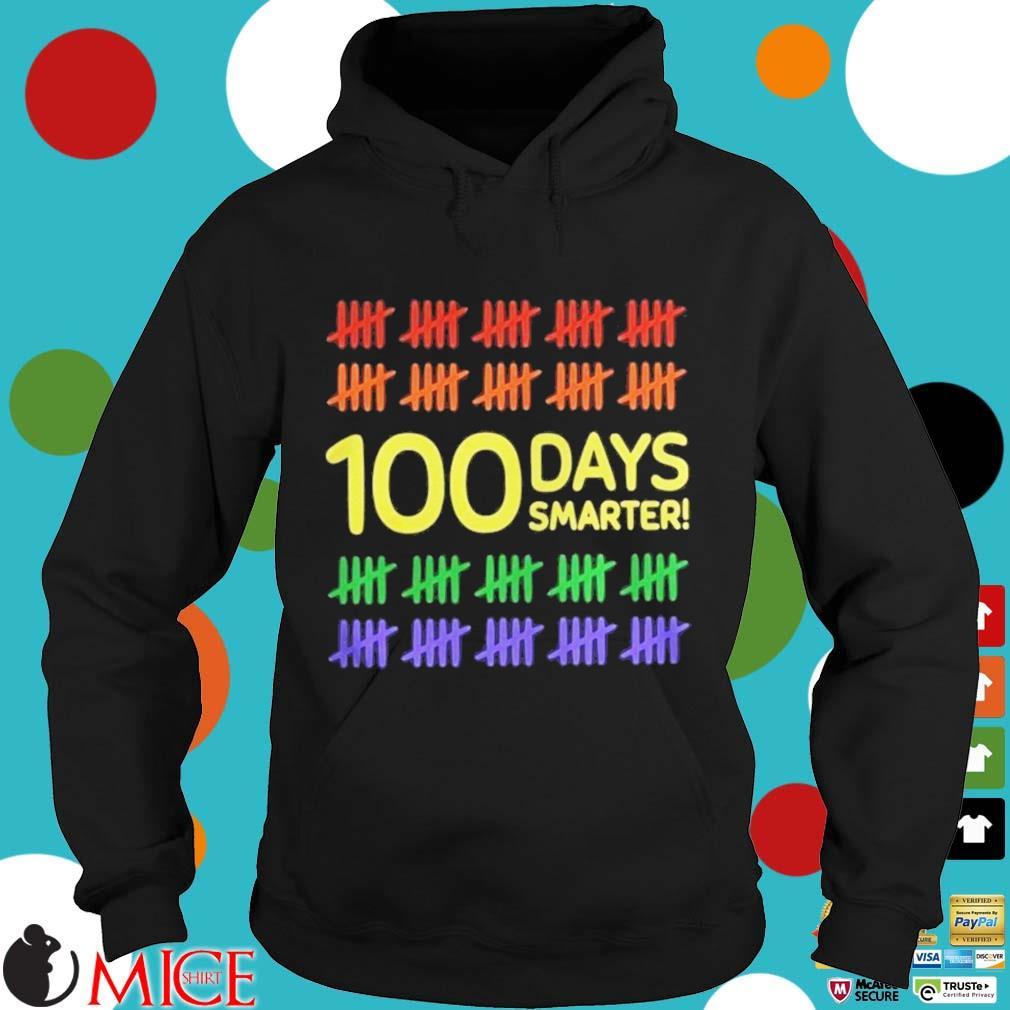 100 Days Smarter LGBT Shirt d Hoodie