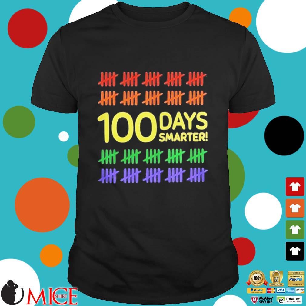 100 Days Smarter LGBT Shirt