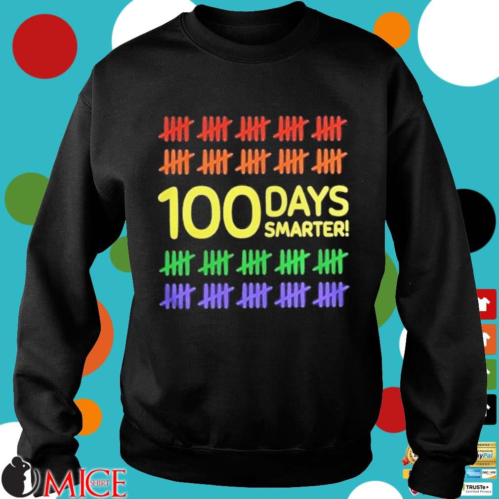 100 Days Smarter LGBT Shirt d Sweater
