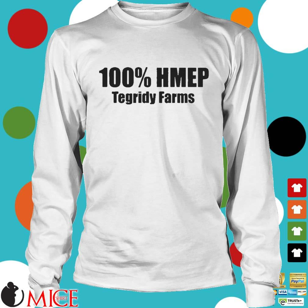 100 Hemp Tegridy Farms Classic Shirt t Longsleeve