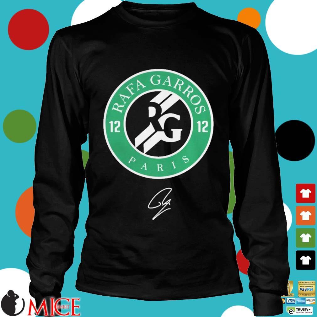 12 Rafa Garros Paris Shirt d Longsleeve