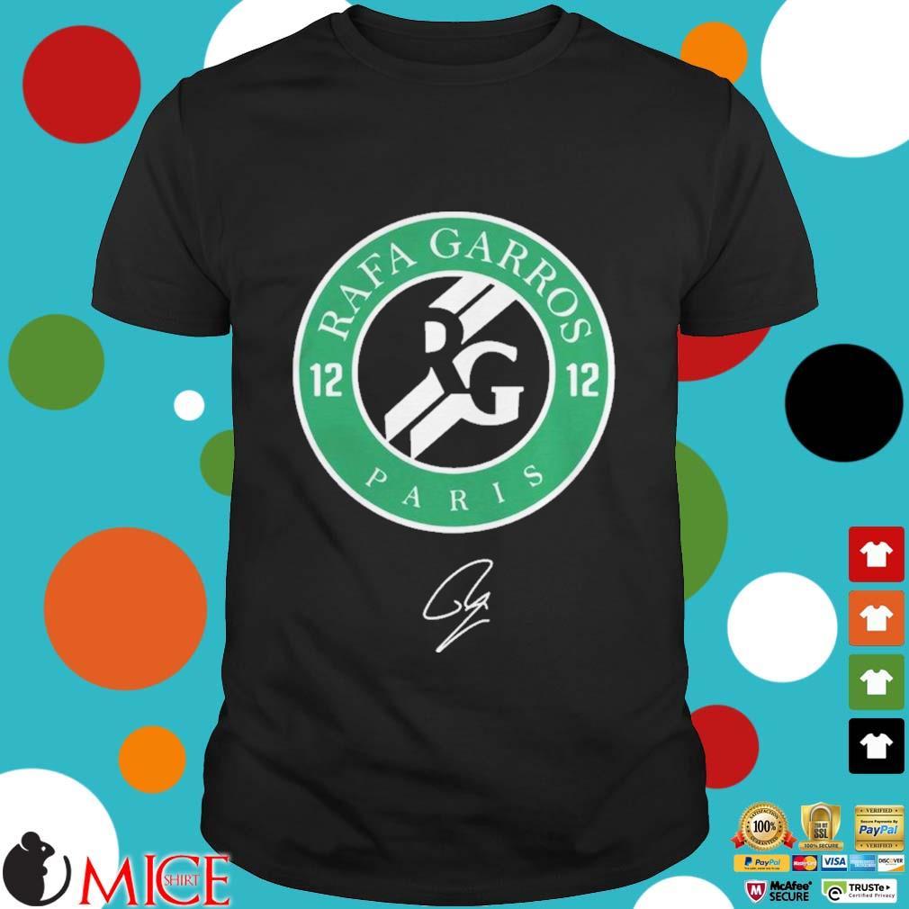 12 Rafa Garros Paris Shirt