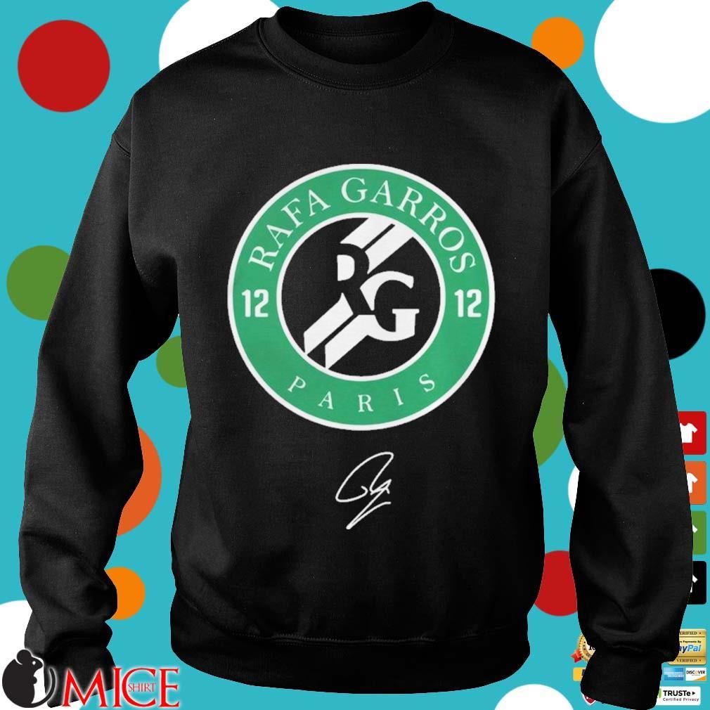 12 Rafa Garros Paris Shirt d Sweater