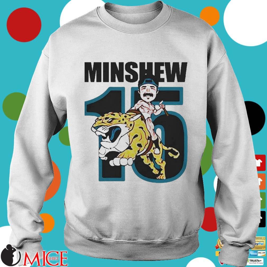15 Magic Gardner Minshew Jacksonville Jaguars s t Sweater