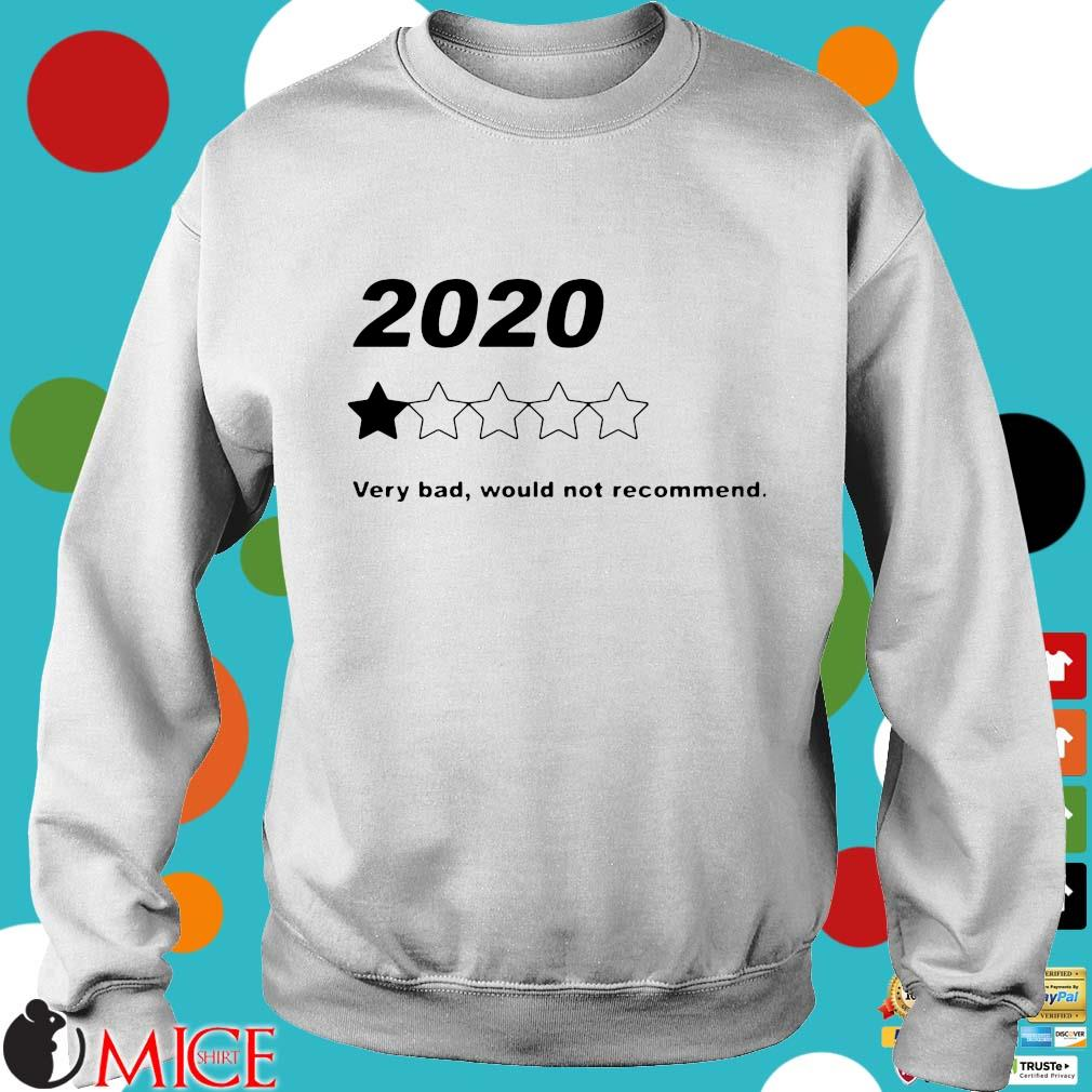 2020 Very Bad Would Not Recommend Shirt t Sweater