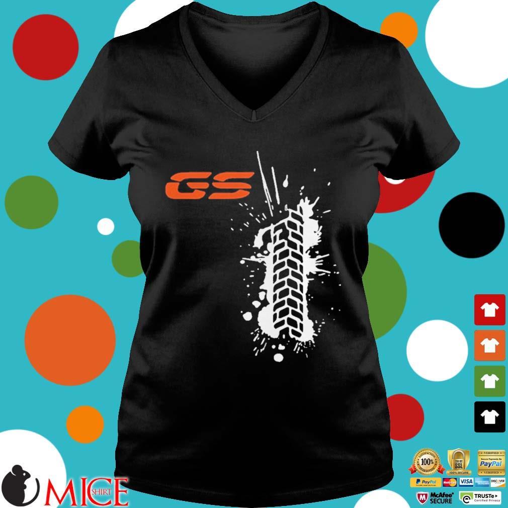 Black GS paint classic s d Ladies V-Neck