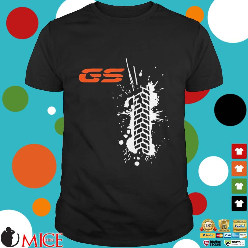 Black GS paint classic shirt