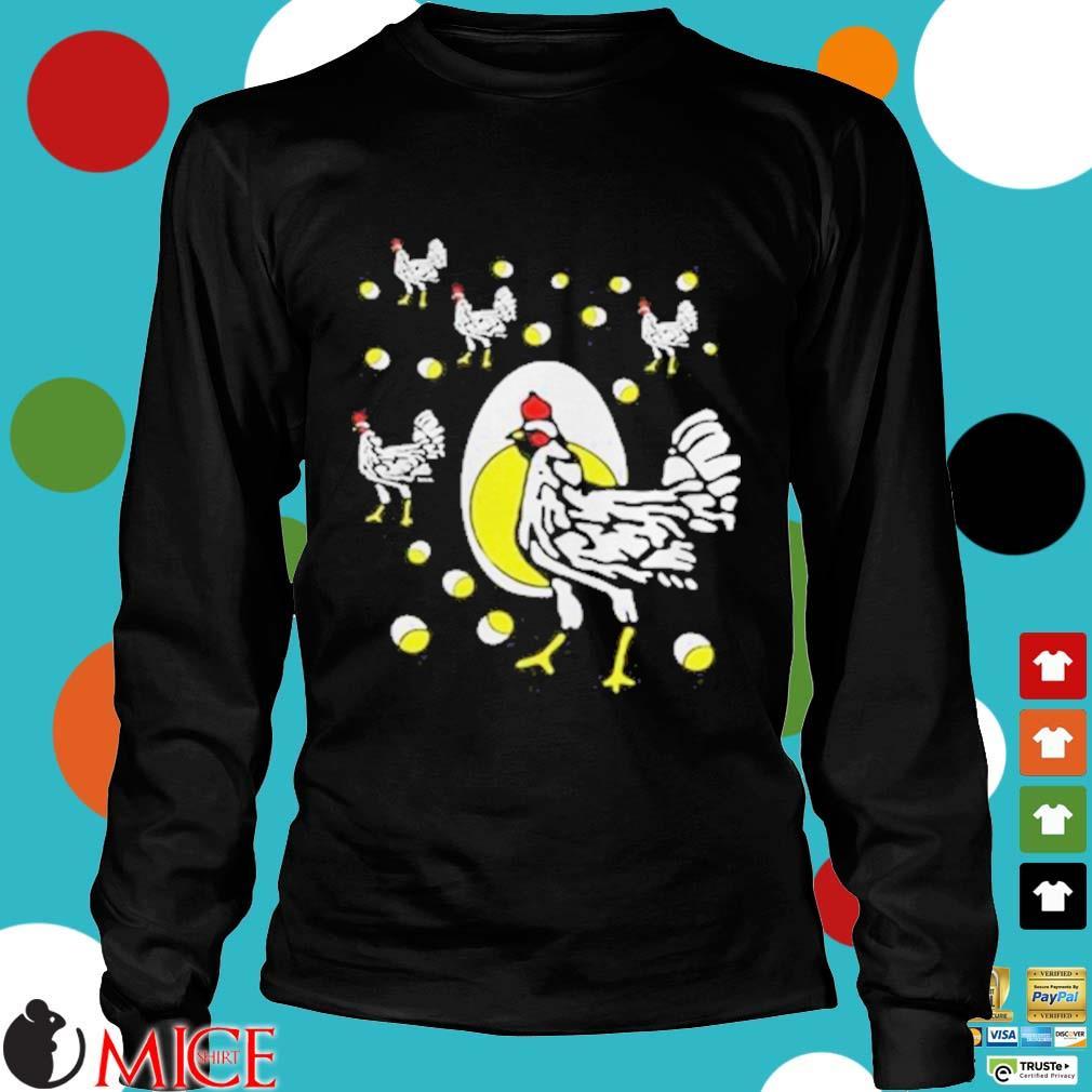 Black hens white eggs s d Longsleeve